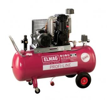 Elmag - Profi-Line EUROCOOL PL 840/10/200 D - Hochleistungskompressor