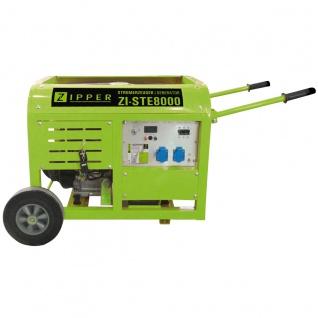 Zipper ZI-STE8000 Stromerzeuger 2x230V - Vorschau 2