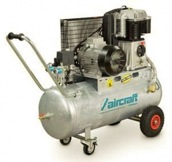 Aircraft - AIRPROFI 853/100 - Der extrem robuste Kompressor mit zweistufig verdichtendem Zweizylinde