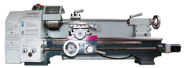 OPTIMUM TU 2506 (230V) - Drehmaschine mit Vorschubgetriebe für den anspruchsvollen Anwender