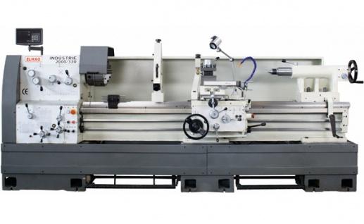 Elmag - INDUSTRIE 2000/400 - Universal-Drehmaschine 400 V