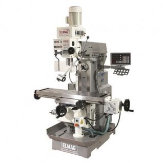 Elmag - MFB 50 LGT - Getriebe-Fräs- und Bohrmaschine 400 V