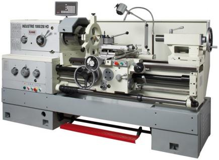 Elmag - INDUSTRIE 1000/250 HD - Universal-Drehmaschine 400 V