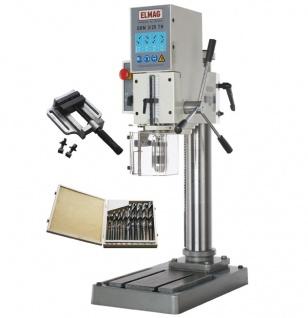 Elmag GBM 3/25 TNE - Getriebe-Tischbohrmaschine - Set - Vorschau 4