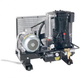 Elmag - Profi-Line PALETTE PAL 1100/10 D - Palettenaggregat für Gewerbe und Industrie