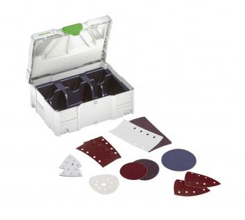 FESTOOL SYSTAINER mit Einlagen für Schleifmittel SYS-STF 80x133 - 497684