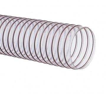 Flexadux® P1NPU-SE-A Absaugschlauch - Ø 125 mm - Leichter und flexibler Spiralschlauch aus Polyureth