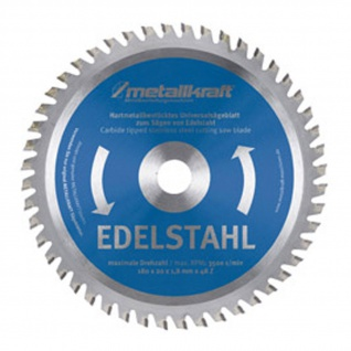 Metallkraft Sägeblatt Ø 230x2x25, 4 mm für Stahl, Aluminium oder Edelstahl