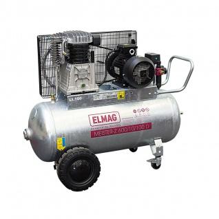 Elmag MEISTER-Z verzinkt 700/10/200 D - Kompressor