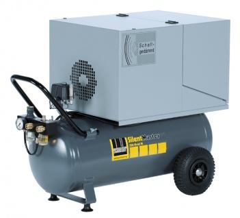 Schneider - SilentMaster - SEM 255-10-50 W - Ölfreier und geräuscharmer Kolbenkompressor