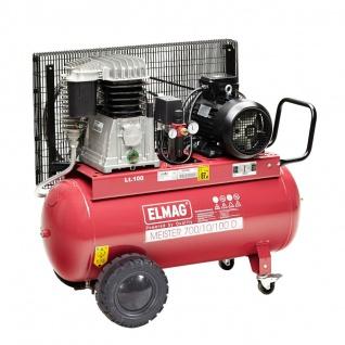 Elmag MEISTER 700/10/100 D - Kompressor