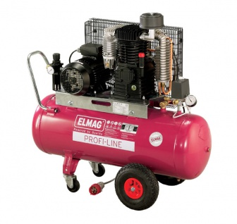 Elmag - Profi-Line EUROCOOL PL 600/10/100 D - Hochleistungskompressor
