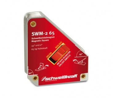 Schweißkraft SWM - 2 65 - schaltbarer Schweißwinkelmagnet