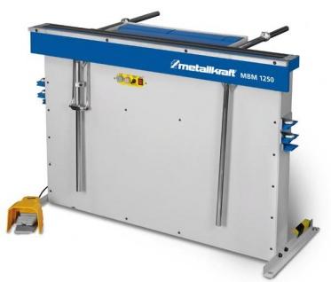 Metallkraft MBM 1250 - Magnetische Schwenkbiegemaschine mit Fußpedal