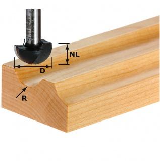 FESTOOL Hohlkehlfräser HW Schaft 8 mm - Verschiedene Durchmesser