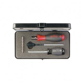 Wiha TorqueVario®-S Drehmoment-Schraubendrehersatz, 13-tlg. - 10 TORX®, TORX PLUS® Standard-Bits
