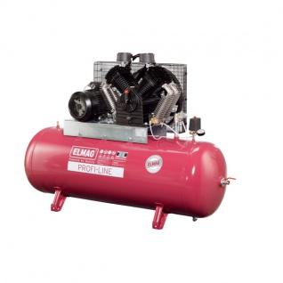 Elmag - Profi-Line EUROCOOL PL 1600/10/270 D - Hochleistungskompressor