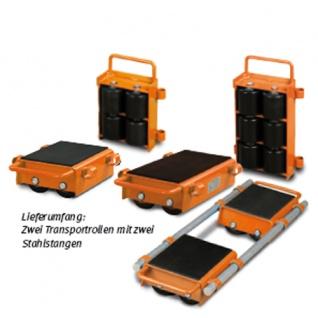 Unicraft VTR 6 - verstellbare Transportrollen