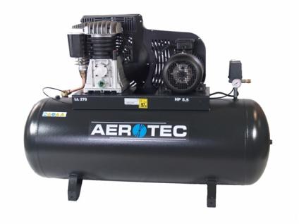 Aerotec B59-270 FT - Kolbenkompressor - 400V liegend