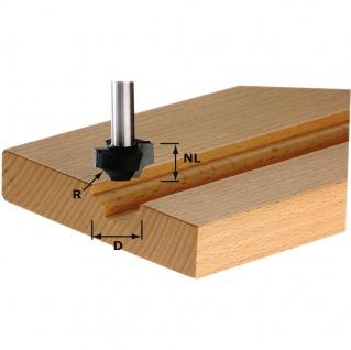 FESTOOL Viertelstabfräser HW Schaft 8 mm - Verschiedene Durchmesser