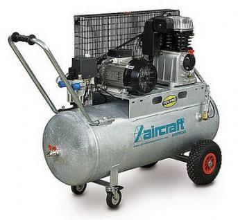 Aircraft - AIRPROFI 503/100 - Profi-Kompressor mit Zweizylinder-Hochleistungsaggregaz