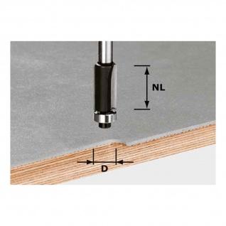 FESTOOL Bündigfräser HW Schaft 8 mm HW S8 D19/NL25