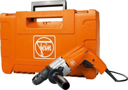 FEIN BOP 10-2 - Zweigang-Bohrmaschine bis 10 mm inkl. Kunststoff-Werkzeugkoffer