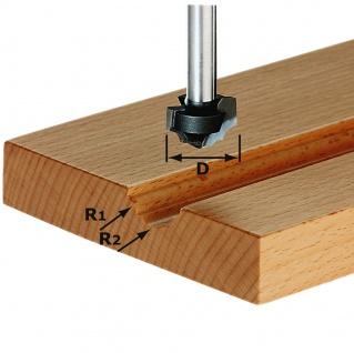 FESTOOL Profilfräser HW Schaft 8 mm HW S8 D19/R5/R4 - 491032