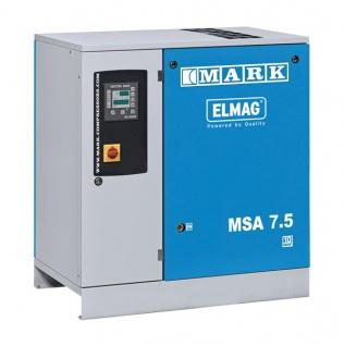 Elmag - MSA 7, 5 (8/10 bar oder 13 bar) - Schraubenkompressor