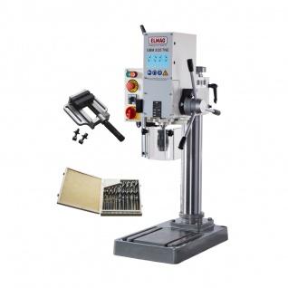 Elmag GBM 3/25 TNE - Getriebe-Tischbohrmaschine - Set