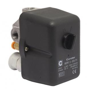 Elmag - Druckschalter CONDOR MDR 2/11 bar, 230 Volt