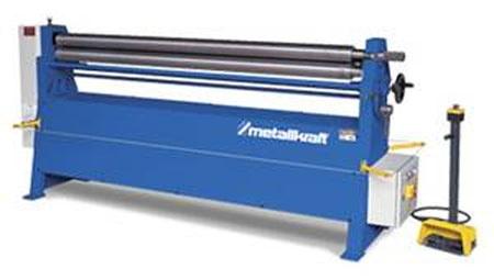 Metallkraft RBM 1550 - 40 E - motorische Rundbiegemaschine mit leistungsstarkem Elektroantrieb und
