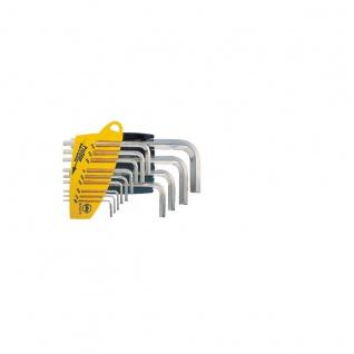 Wiha Sechskant-Stiftschlüsselsatz im ProStar Halter - Glanzvernickelt, 13-tlg. Zoll-Ausführung