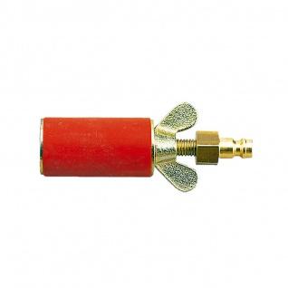 ROTHENBERGER Gasprüfstopfen zylindrische Form mit pneumatik Anschluss Größe 1 oder 3