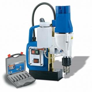 Metallkraft MB 502 E - Magnetbohrmaschine - Aktions-Set