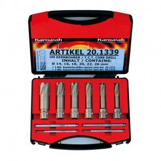 Metallkraft Kernbohrer-Set HARD-LINE 55 Universal Set - 10-tlg.
