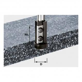 FESTOOL Wendeplatten-Bündigfräser HW Schaft 12 mm HW S12 D21/30WM
