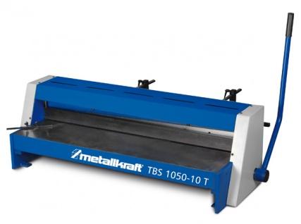 Metallkraft TBS 1050-10 T - manuelle Präzisions-Tafelblechschere