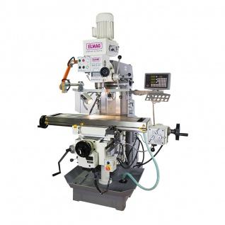 Elmag MFB 50 LGT - Getriebe Fräs- und Bohrmaschine inkl. Digitalanzeige