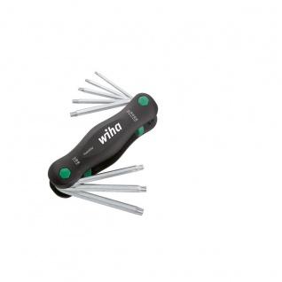 Wiha TORX®-Klapphalter großer PocketStar® - 8-tlg.