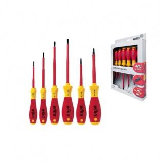 Wiha SoftFinish® electric Schlitz/Pozidriv Schraubendrehersatz, 6-tlg. - 320N ZK6 SO