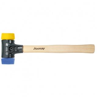 Wiha Safety Schonhammer, blau/ gelb, Vierkant 40 mm