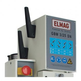 Elmag GBM 3/25 SNE - Getriebe-Säulenbohrmaschine - Set - Vorschau 3