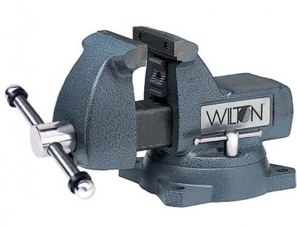 Wilton Werkbank-Schraubstock Spannbackenbreite 100 mm - Sockel 360° drehbar