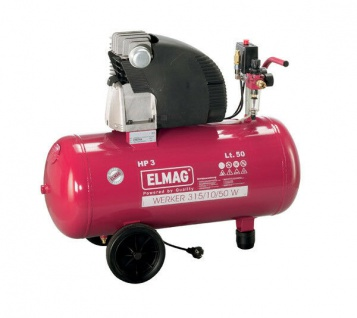 Elmag WERKER 315/10/50 D - Universalkompressor - 400V