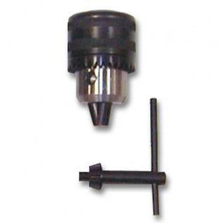 Elmag - Zahnkranzbohrfutter 1 - 16 mm mit Schlüssel und B 16 oder B 18 - Aufnahme