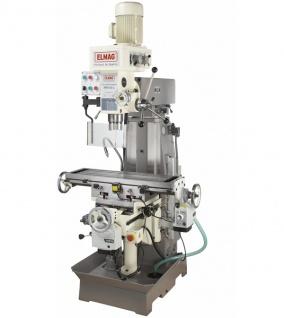 Elmag MFB 50 L - Getriebe Fräs- und Bohrmaschine - Vorschau 2