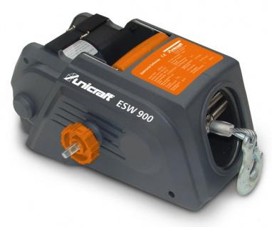 Unicraft ESW 900 - Elektrische Seilwinde, kompakt und robust, mit 12 V Anschluss