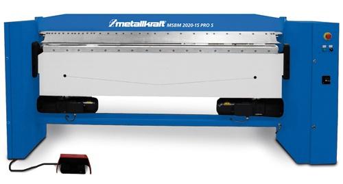 Metallkraft MSBM 2020-15 PRO S motorische Schwenkbiegemaschine