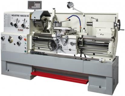 Elmag - INDUSTRIE 2000/230 HD - Universal-Drehmaschine 400 V